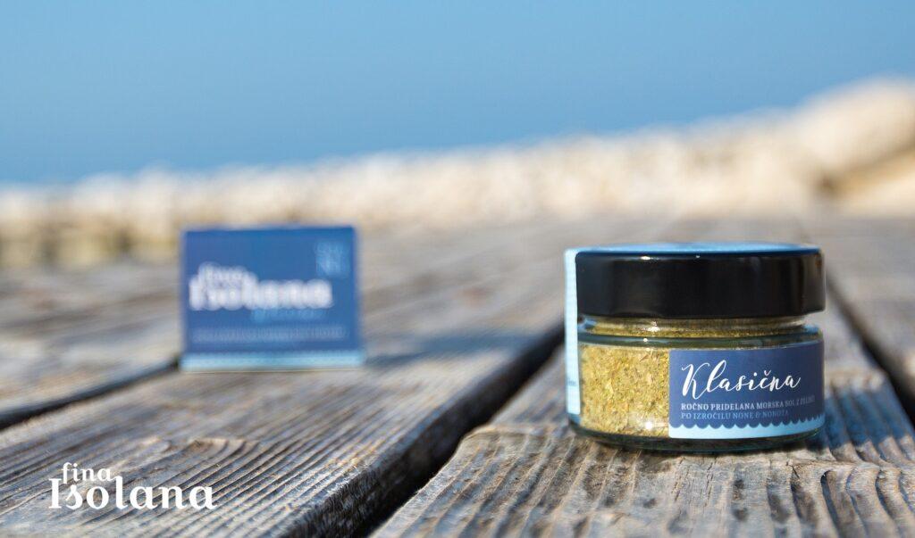 Isolana klasyczna sól morska z ziołami